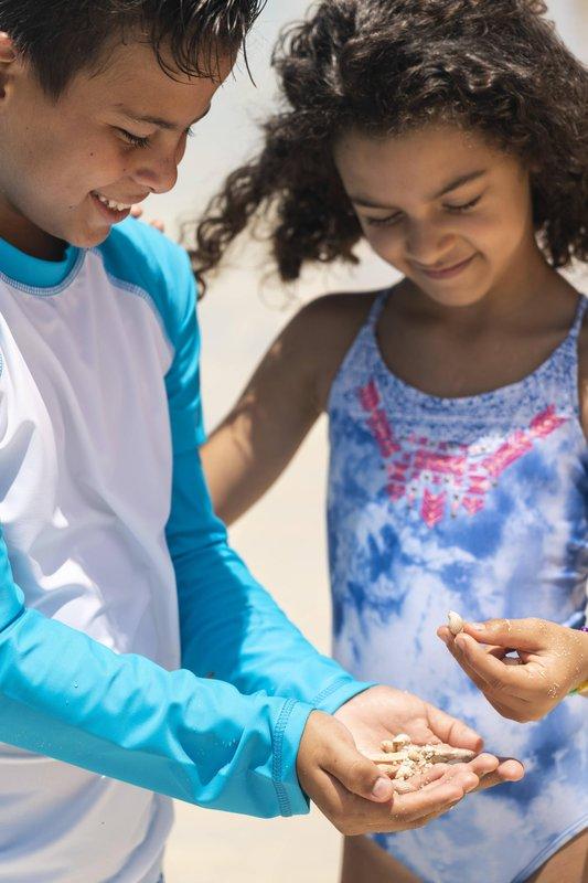 THE RITZ-CARLTON, ARUBA - Kids Playing At The Beach <br/>Image from Leonardo