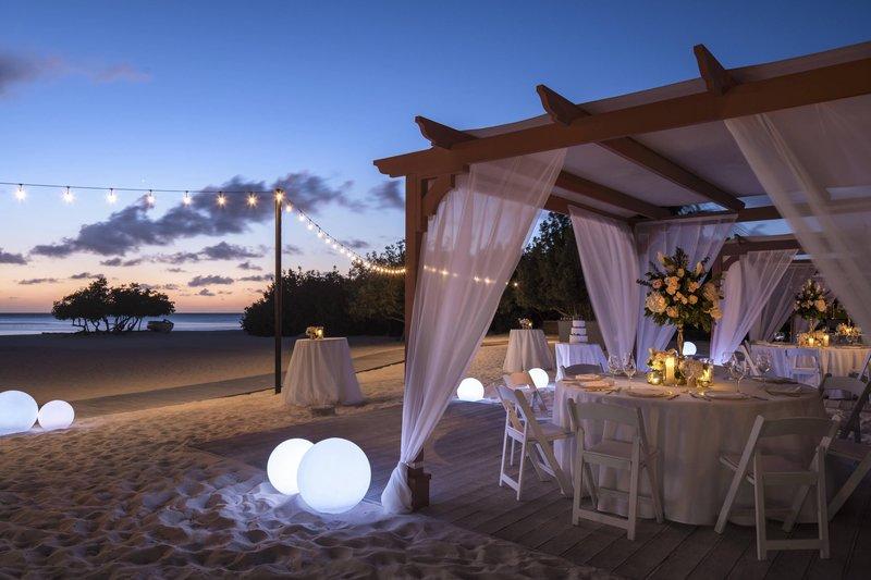 THE RITZ-CARLTON, ARUBA - Beach Cabanna Wedding <br/>Image from Leonardo