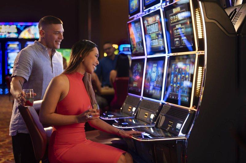 THE RITZ-CARLTON, ARUBA - Casino Slot Machine <br/>Image from Leonardo