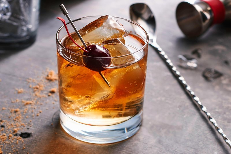 Courtyard Calgary South-Black Cherry Old Fashioned<br/>Image from Leonardo