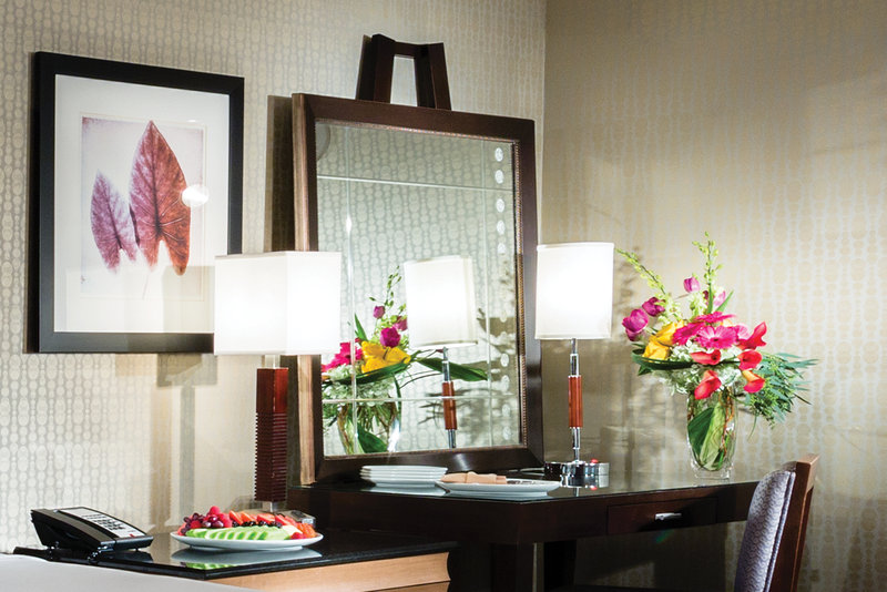 New York-New York Hotel-Park Avenue King Desk And Lamp<br/>Image from Leonardo