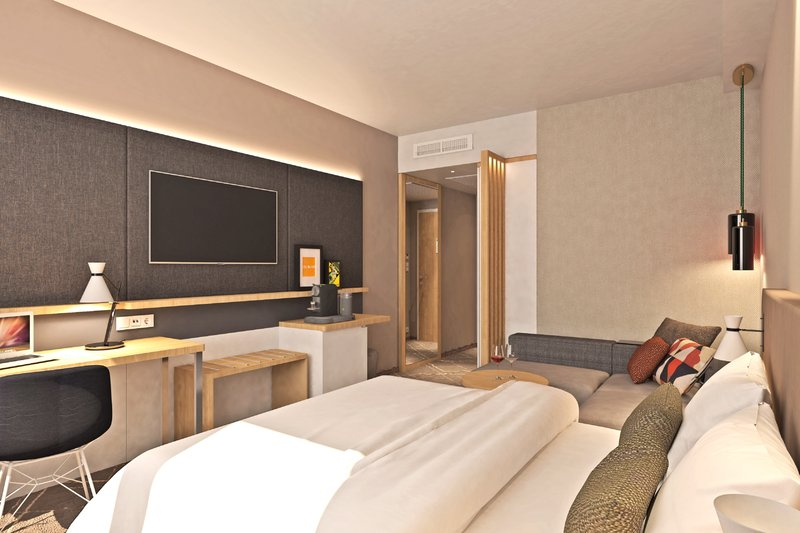 Holiday Inn Eindhoven Airport-View of guest room<br/>Image from Leonardo