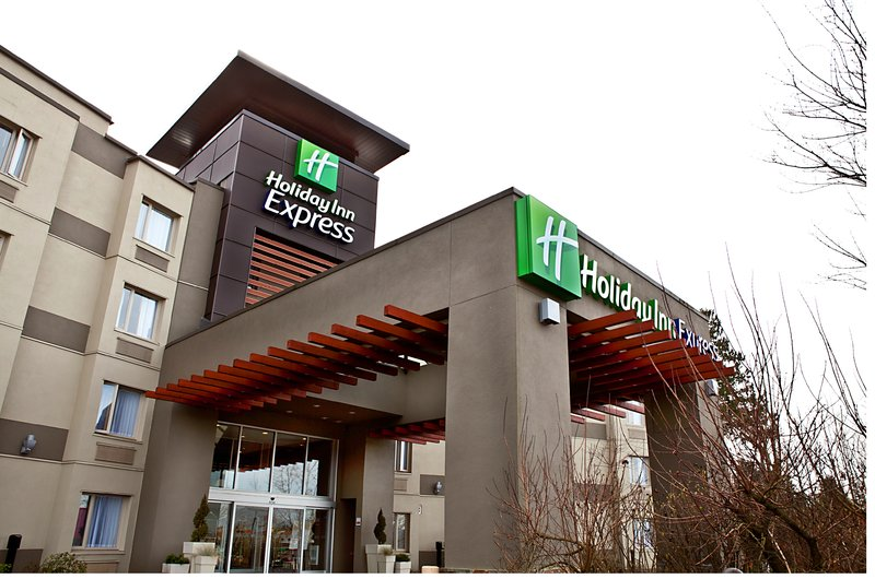 Holiday Inn Express & Suites Langley-Holiday Inn Express & Suites Langley Hotel Entrance<br/>Image from Leonardo
