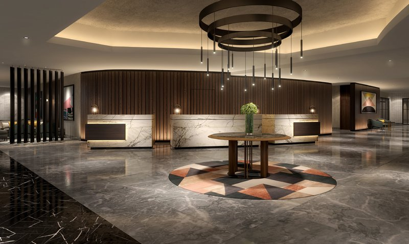 Crowne Plaza Marlow-Refurbished Reception area<br/>Image from Leonardo