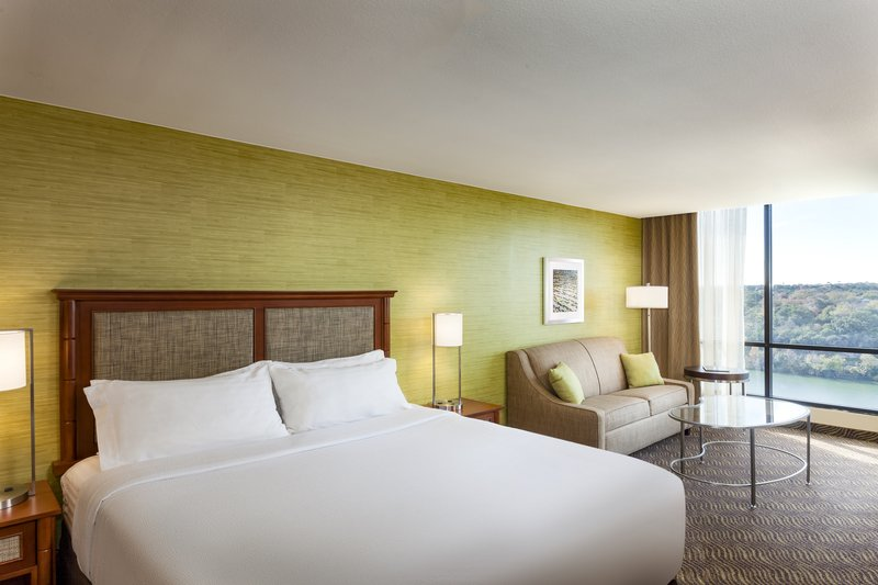 Crowne Plaza Austin - Town Lake-Take in the beautiful view of the lake from your king guest room.<br/>Image from Leonardo