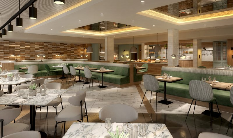 Crowne Plaza Marlow-Restaurant currently being refurbished (2019)<br/>Image from Leonardo