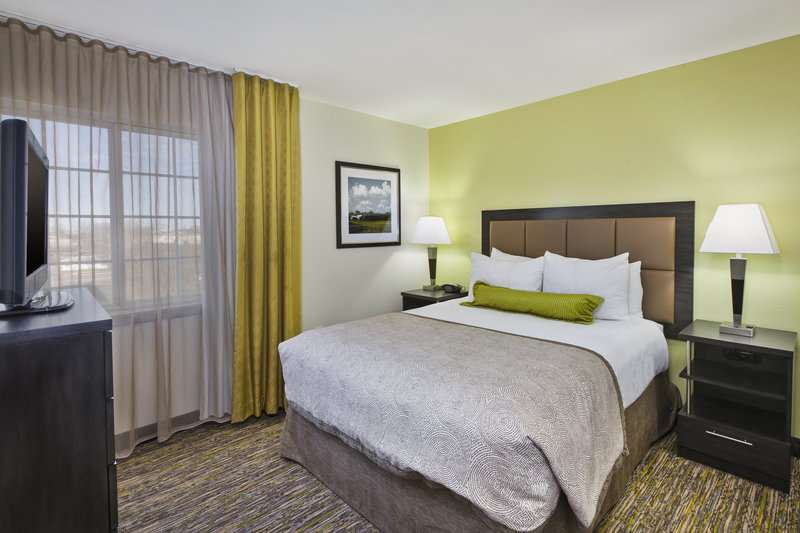 Candlewood Suites Indianapolis Airport-Queen Bed Guest Room<br/>Image from Leonardo