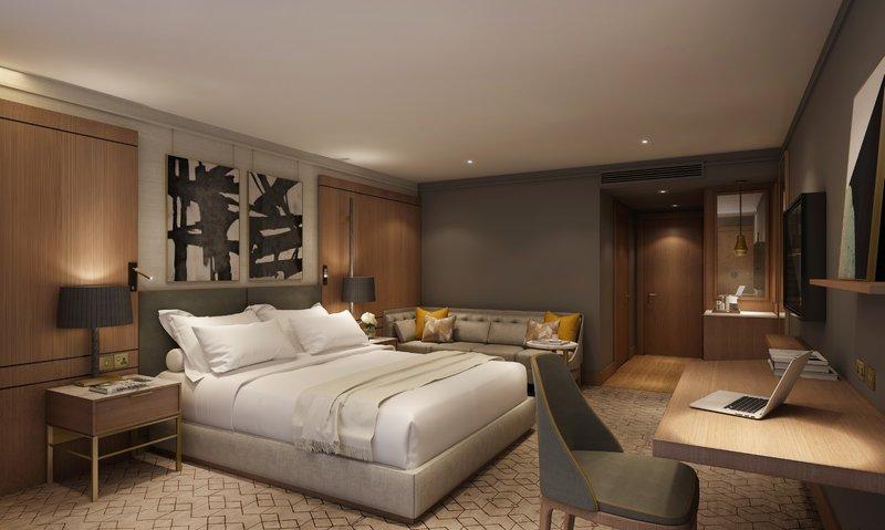 Crowne Plaza Marlow-Newly Refurbished Bedroom <br/>Image from Leonardo