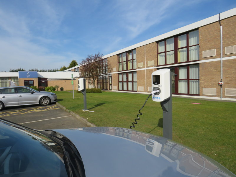 Holiday Inn Newcastle-Jesmond-We have 4 electric car charging points<br/>Image from Leonardo