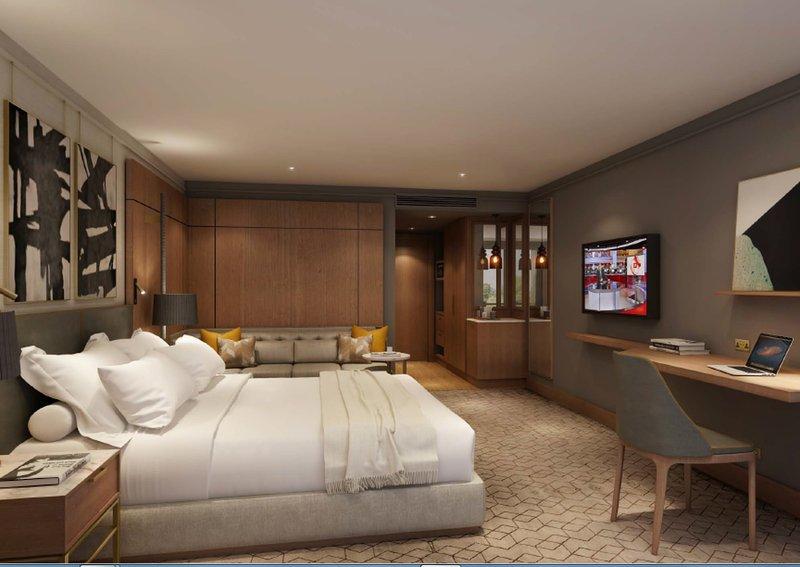 Crowne Plaza Marlow-Newly refurbished Bedroom<br/>Image from Leonardo