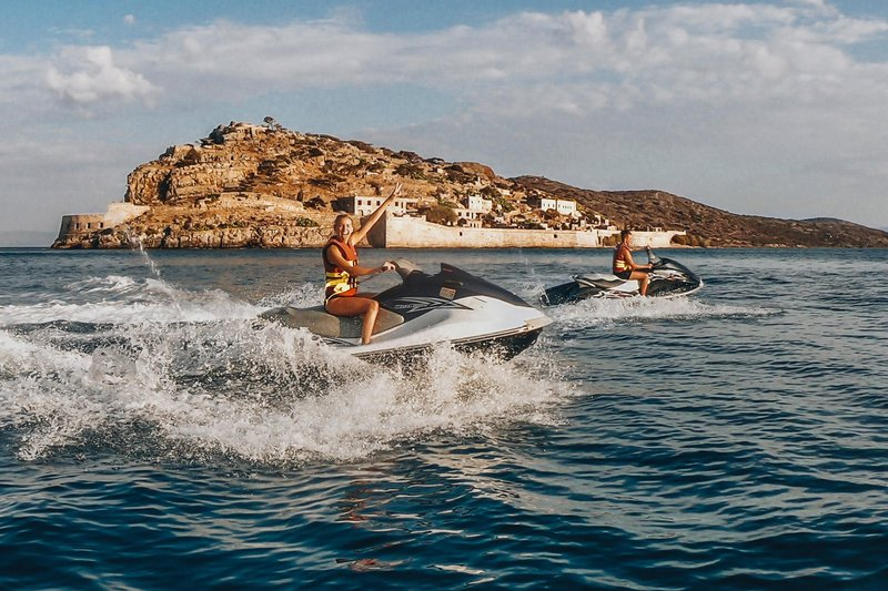 Blue Palace; a Luxury Collection Hotel-Jet Skiing At Blue Palace's Beach<br/>Image from Leonardo