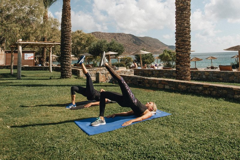 Blue Palace; a Luxury Collection Hotel-Outdoor Yoga Session<br/>Image from Leonardo