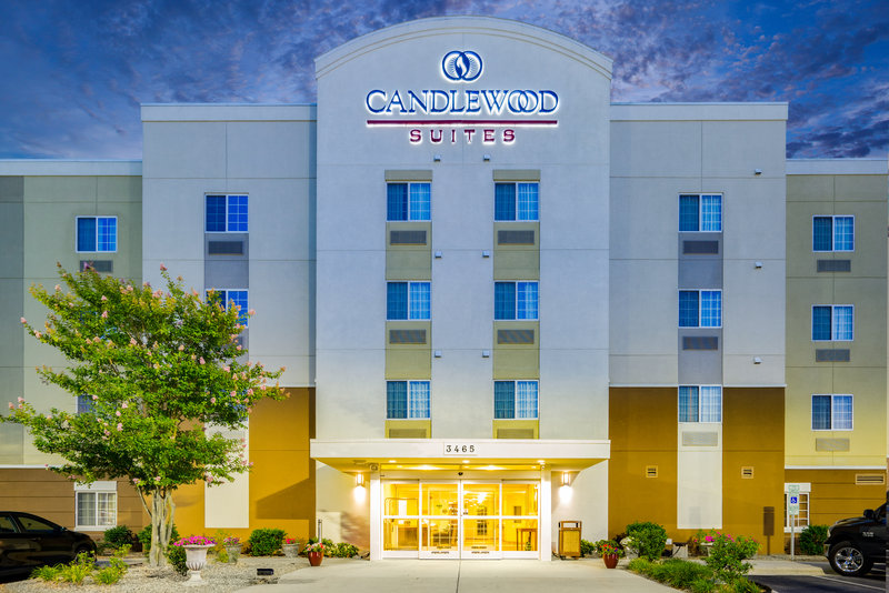 Candlewood Suites New Bern-Hotel Exterior<br/>Image from Leonardo