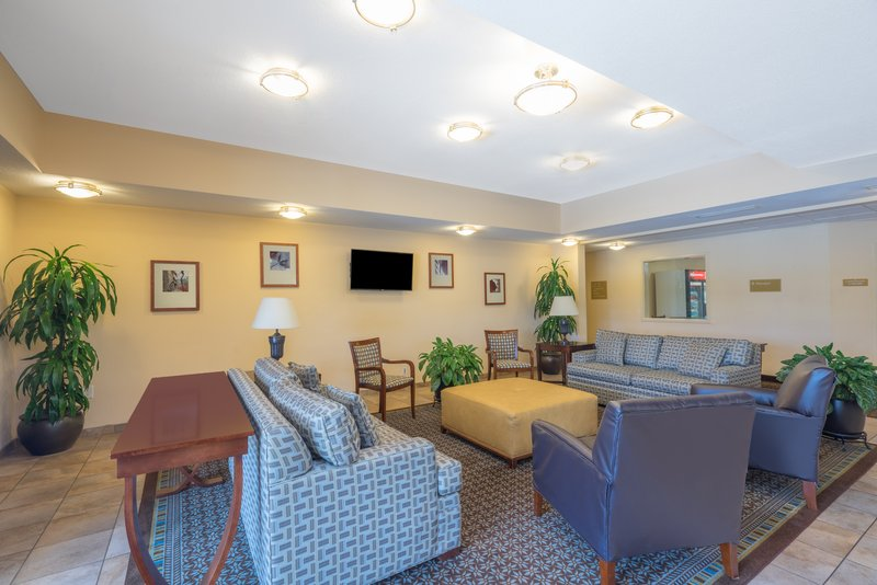 Candlewood Suites New Bern-Welcome to our hotel lobby with free WiFi<br/>Image from Leonardo