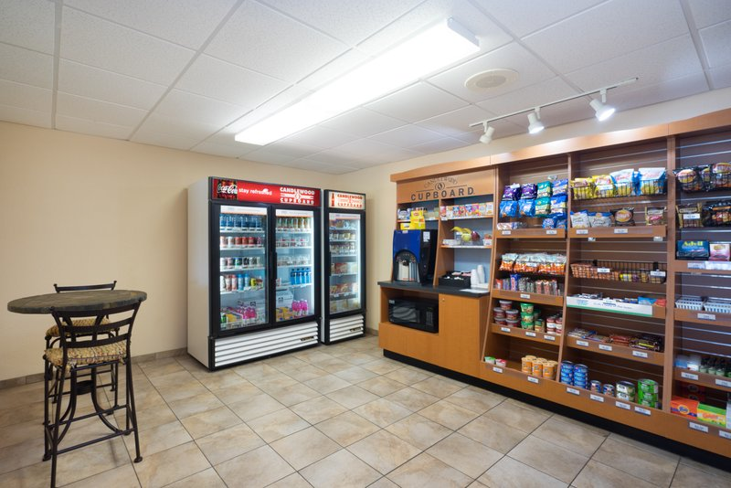 Candlewood Suites New Bern-Candlewood Cupboard free coffee, snacks & beverages for purchase<br/>Image from Leonardo