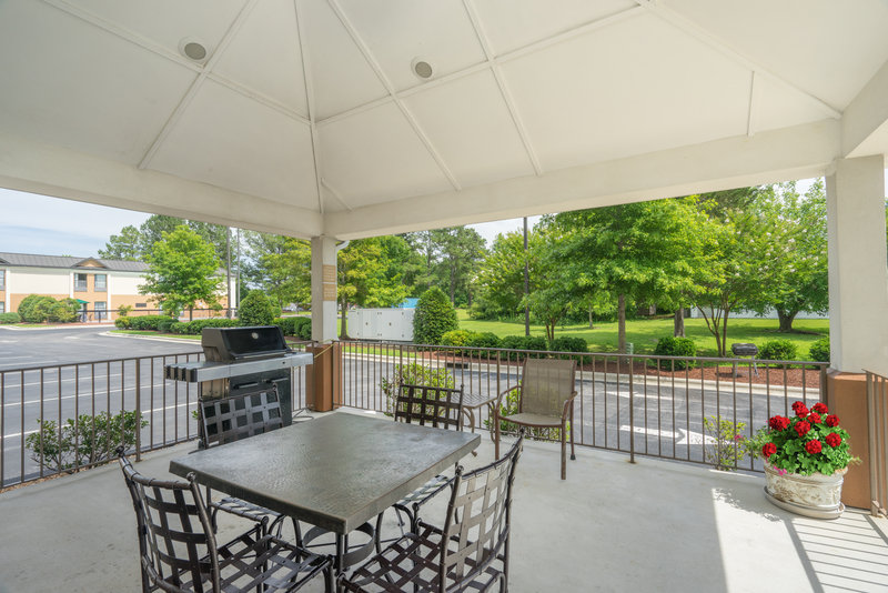 Candlewood Suites New Bern-Grill your dinner on our free gas grills in the Candlewood Gazebo<br/>Image from Leonardo