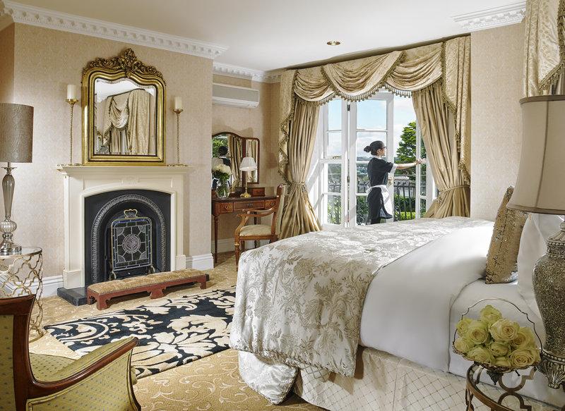 Hayfield Manor-Master Suite Bedroom<br/>Image from Leonardo