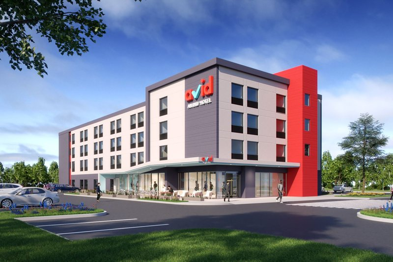 Avid Hotels Midland-Exterior view of our Modern Design<br/>Image from Leonardo