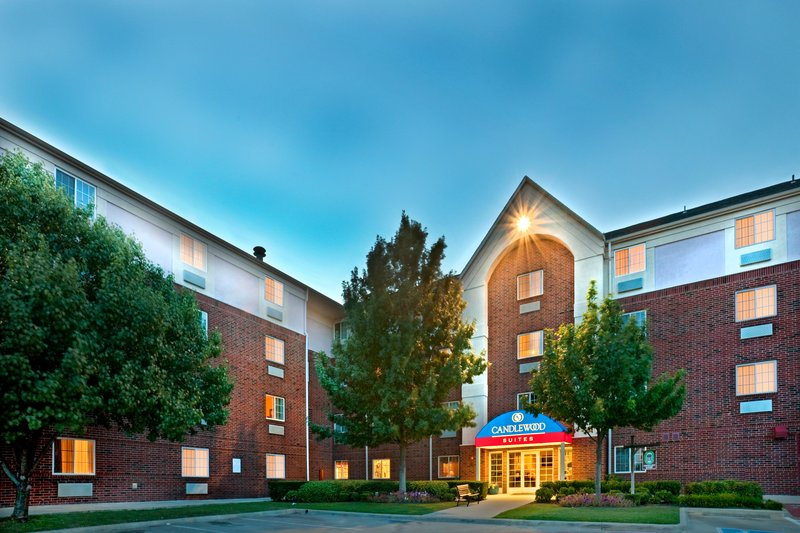 Candlewood Suites Arlington-Hotel Exterior Night<br/>Image from Leonardo