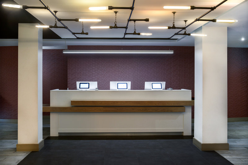 Crowne Plaza Plymouth-Reception Desk<br/>Image from Leonardo