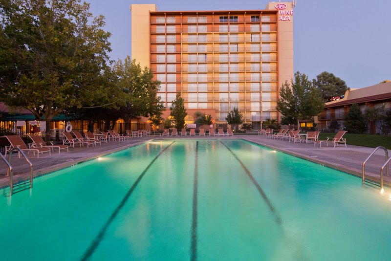 Crowne Plaza Albuquerque-Outdoor pool<br/>Image from Leonardo