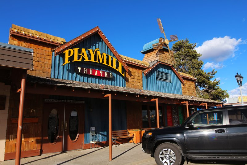 Holiday Inn West Yellowstone-Playmill Theatre in West Yellowstone, MT<br/>Image from Leonardo