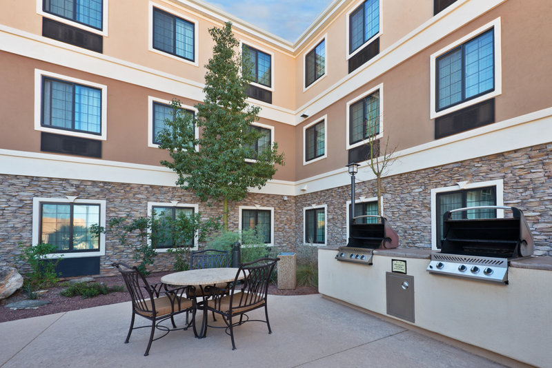Staybridge Suites Tucson Airport-Our Guest Patio is great for hosting a barbecue or social<br/>Image from Leonardo