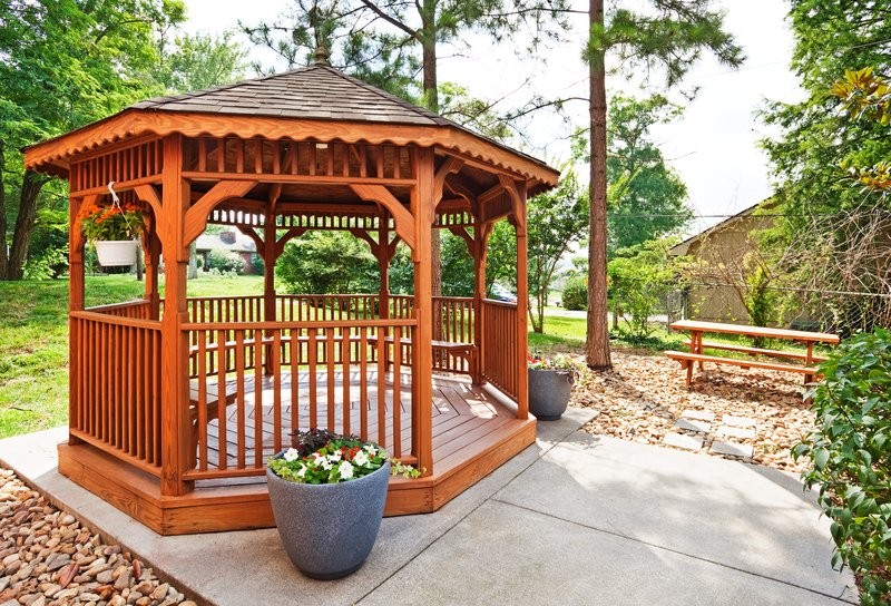 Candlewood Suites Knoxville-Our outdoor gazebo and picnic area<br/>Image from Leonardo