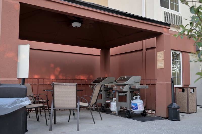 Candlewood Suites Clearwater-Gazebo Grill Area<br/>Image from Leonardo