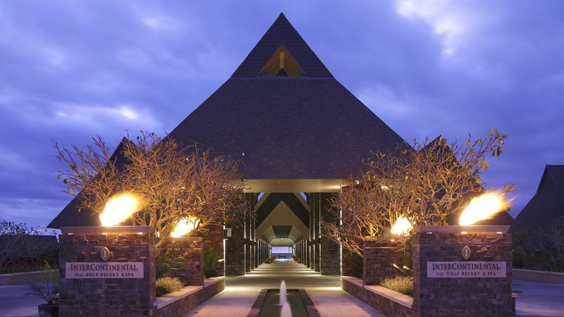 InterContinental Fiji Golf Resort & Spa-Entrance to Concierge area<br/>Image from Leonardo