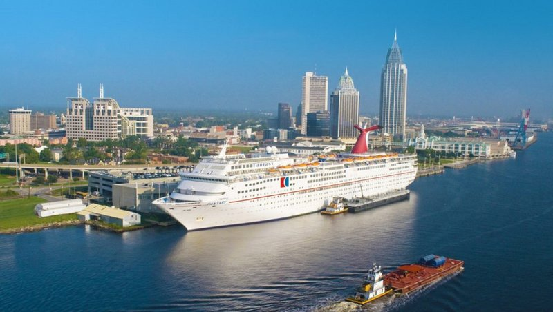 Holiday Inn Mobile - Downtown/Historic District-Climb onboard the Carnival Fantasy at the Alabama Cruise Terminal<br/>Image from Leonardo