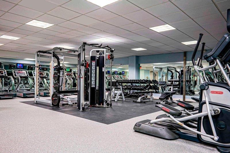 Marriott San Juan Resort - Fitness Center Equipment <br/>Image from Leonardo