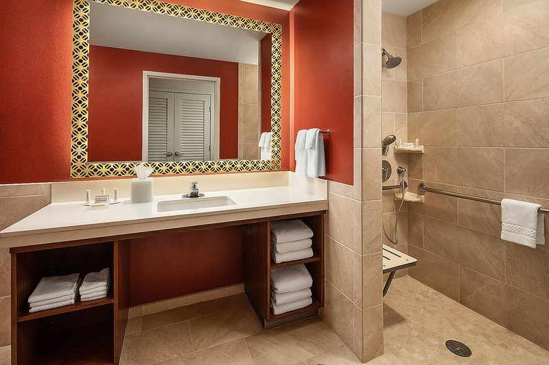 Courtyard Anaheim Theme Park Entrance-Accessible 1 Bedroom Suite<br/>Image from Leonardo