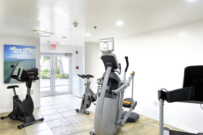 Holiday Inn Resort Grand Cayman-Fitness Center, fit in Cayman, workout, exercise in paradise<br/>Image from Leonardo