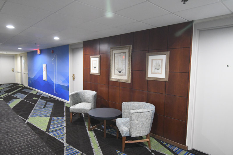 Holiday Inn Express & Suites Port Clinton - Catawba Island-First Floor Hallway <br/>Image from Leonardo