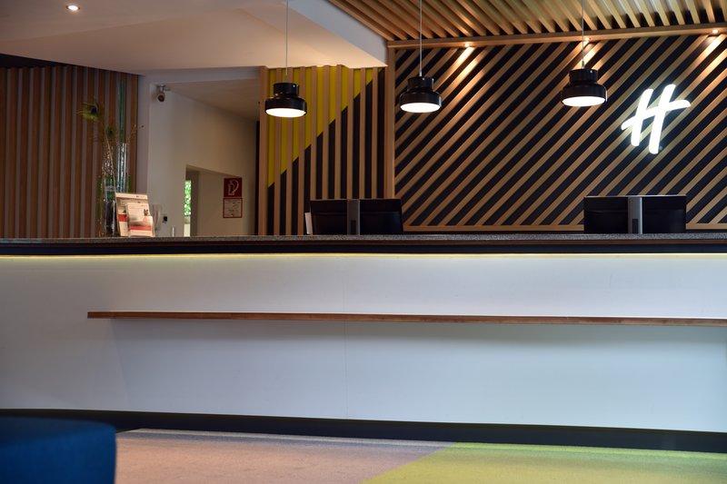 Holiday Inn Salzburg City-Modern Front Desk<br/>Image from Leonardo