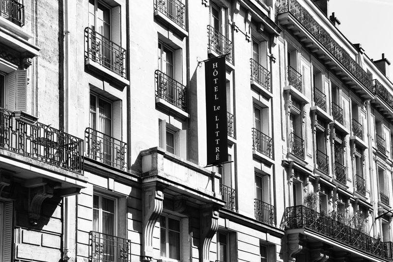 Le Littre Hotel - FACADE <br/>Image from Leonardo