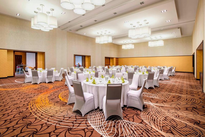 Courtyard Calgary Airport-Stampede Ballroom - Banquet Setup<br/>Image from Leonardo