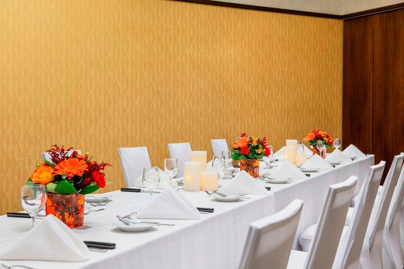 Courtyard Calgary Airport-Stetson Ballroom A - Banquet Setup<br/>Image from Leonardo