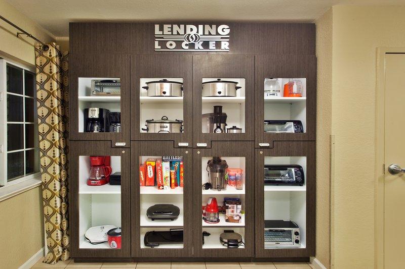 Candlewood Suites Dallas, Ft Worth/Fossil Creek-Lending Locker<br/>Image from Leonardo
