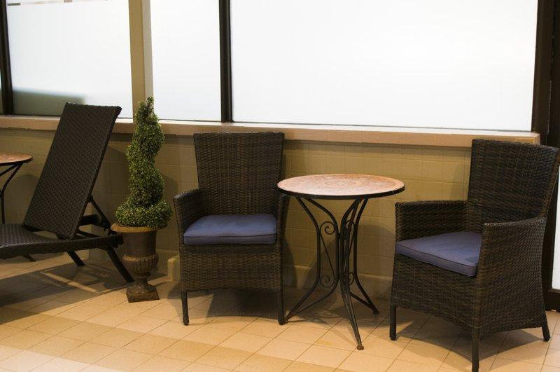 Holiday Inn Sudbury-Comfortable pool side seating<br/>Image from Leonardo