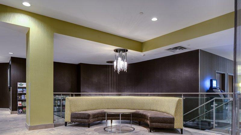 Holiday Inn Sudbury-Elegant pre-function seating area in the atrium<br/>Image from Leonardo