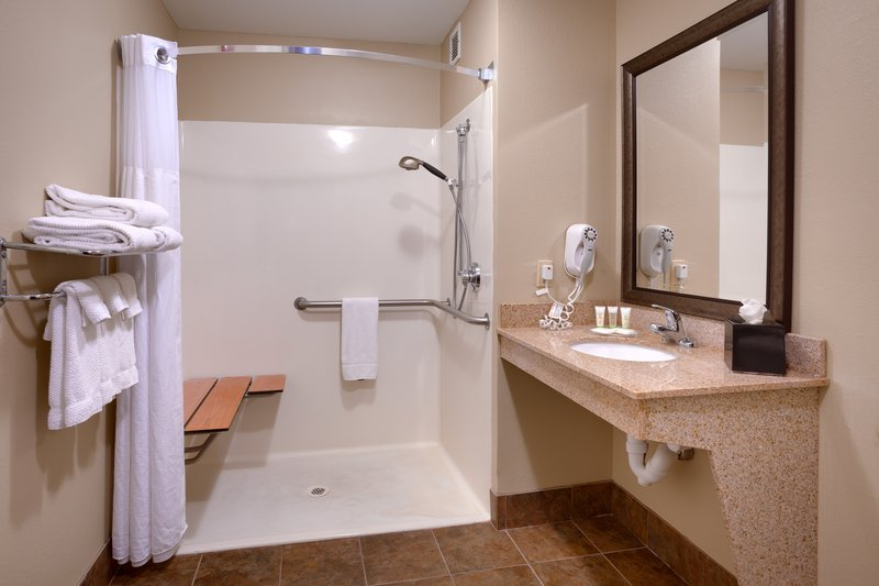 Staybridge Suites Peoria-Downtown-Accessible Roll In Shower<br/>Image from Leonardo