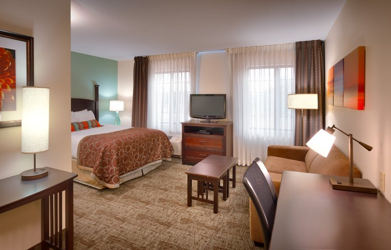 Staybridge Suites Peoria-Downtown-Our Studio Suite has extra room to exceed your expectations<br/>Image from Leonardo