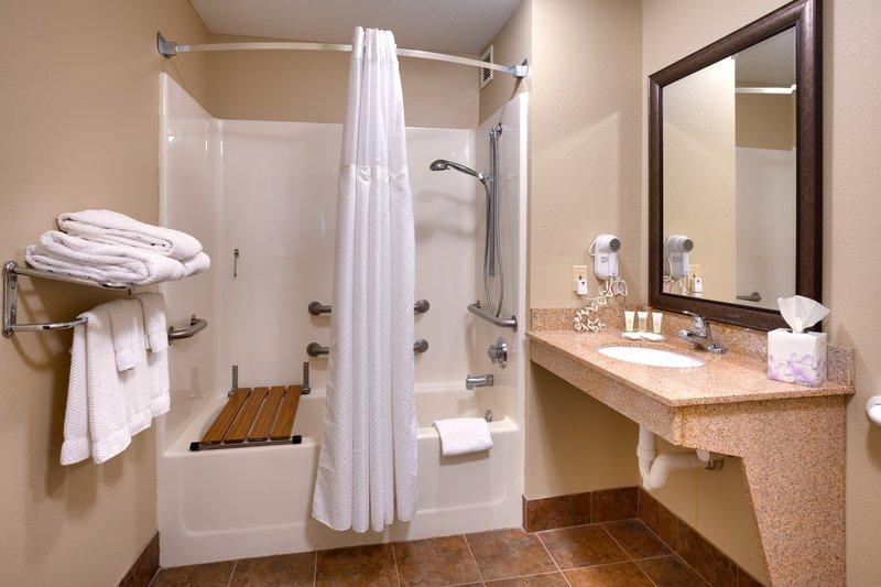 Staybridge Suites Peoria-Downtown-Bathroom Amenities<br/>Image from Leonardo