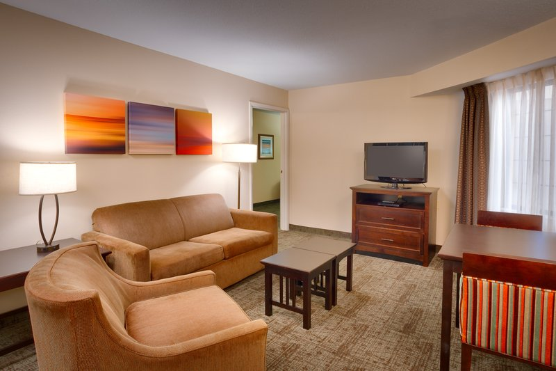 Staybridge Suites Peoria-Downtown-Our two room suites will make you feel right at home<br/>Image from Leonardo