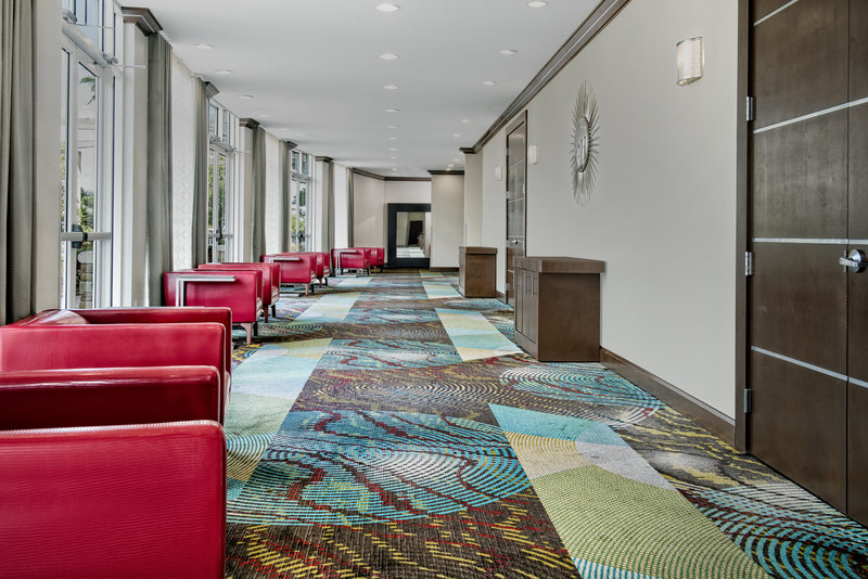 Holiday Inn Hotel & Suites College Station - Aggieland-Elegantly set to welcome guests and allow pre-function networking.<br/>Image from Leonardo