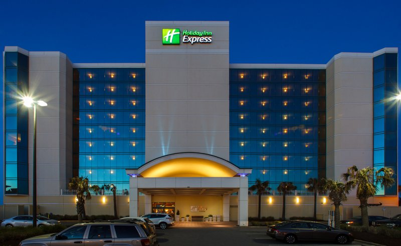 Holiday Inn Express And Suites Virginia Beach Oceanfront-Hotel Exterior<br/>Image from Leonardo