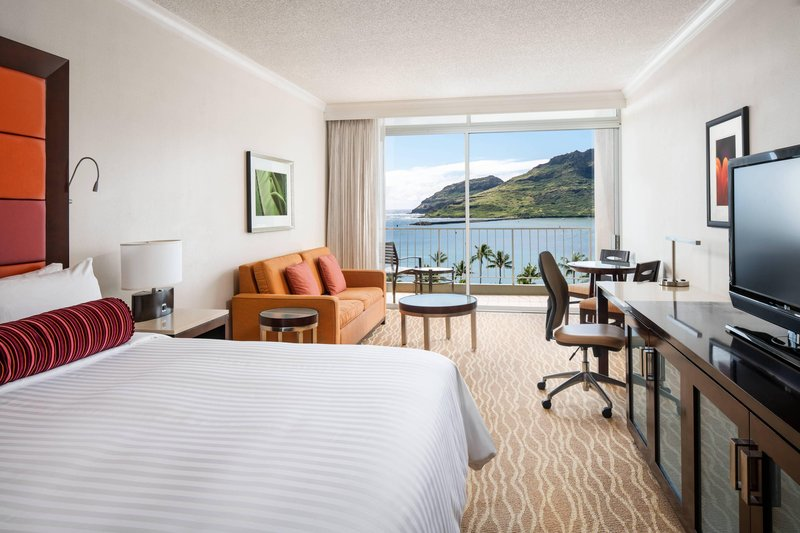 Kauai Marriott Resort-King Deluxe Ocean View Guest Room<br/>Image from Leonardo