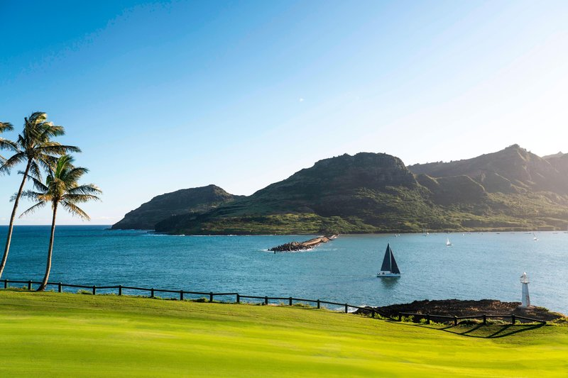 Kauai Marriott Resort-Nawiliwili Bay<br/>Image from Leonardo